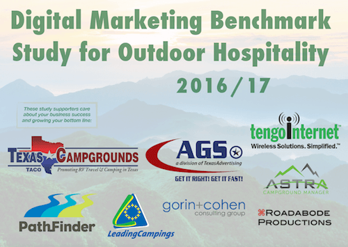 Digital Marketing Benchmark Study for Outdoor Hospitality